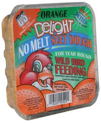 C&S Products Orange Delight No Melt Suet Dough Bird Food