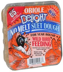 C&S Products  Oriole Delight No Melt Suet Dough Bird Food