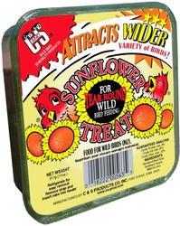 C&S Products  Sunflower Treat Suet Bird Food