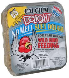 C&S Products  Calcium Delight No Melt Suet Dough Bird Food