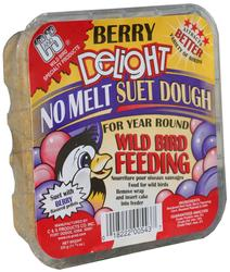 C&S Products  Berry Delight No Melt Suet Dough Bird Food