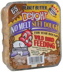 C&S Products  Peanut Butter Delight No Melt Suet Dough Bird Food