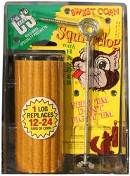 C&S Products  Sweet Corn Squirrelog with Hanger