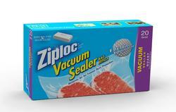 Ziploc® Vacuum Sealer Refill Quart Bags - 20 pk.
