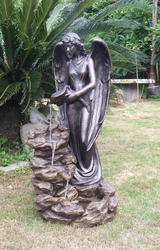 "41"" Angel Rock Fountain"