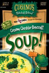 Cuginos Gourmet Foods Cheddar Broccoli Soup Mix