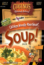 Cuginos Gourmet Foods Chicken Noodle Soup Mix