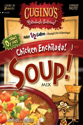Cuginos Gourmet Foods Chicken Enchilada Soup Mix