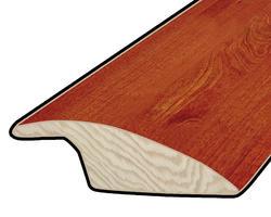 "Hardwood Flooring Reducer - Prefinished Rapid Loc Brazilian Cherry 3/8"" x 47"""