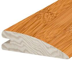 """Hardwood Flooring Reducer- Prefinished Bamboo Honey  5/8"""" x 78"""""""
