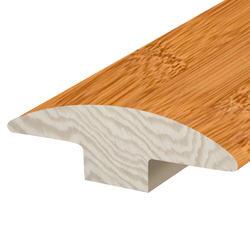 """Hardwood Flooring T-Mould - Prefinished Honey Bamboo 5/8"""" x 78"""""""