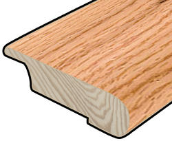 "Hardwood Flooring Stair Nose - Prefinished Rapid Loc Natural Oak 3/8"" x 47"""