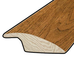 "Hardwood Flooring Reducer - Prefinished Rapid Loc Vintage Hickory 7/16"" x 47"""
