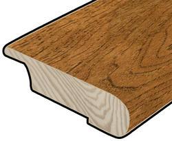 "Hardwood Flooring Stair Nose - Prefinished Rapid Loc Vintage Hickory 7/16"" x 47"""