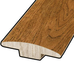 "Hardwood Flooring T-Mould - Prefinished Rapid Loc Vintage Hickory 7/16"" x 47"""