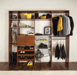 Dakota™ Cinnamon Cherry Closet Organizer