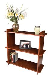 "Dakota™ 32"" Prefinished Cherry 3-Shelf Bookcase"