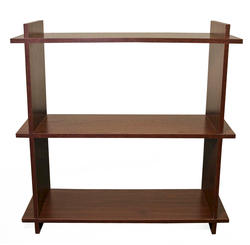 "Dakota™ 32"" Prefinished Walnut 3-Shelf Bookcase"