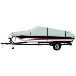 600 Denier Gray Boat Cover - Model D