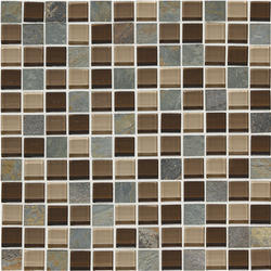 "Phase Mosaics Glass Wall Tile 1"" x 1"""