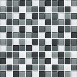 "Color Wave Glass Mosaic Wall Tile 1"" x 1"""