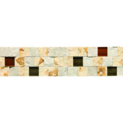 "Marble Collection Wall Decorative Accent 3"" x 12"""