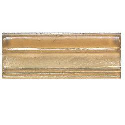 "Cristallo Glass Wall Decorative Chair Rail 3"" x 8"""