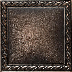 "Ion Metals Wall Decorative Accent 4 1/4"" x 4 1/4"""