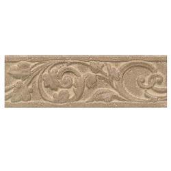 "Salerno Wall Ceramic - Wall Ceramic Decorative Accent 3"" x 10"""