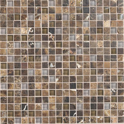 "Stone Radiance Stone and Glass Mosaic Wall Tile 5/8"" x 5/8"" (10 sq.ft/pkg)"