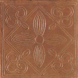"Saltillo Floor or Wall Quarry Decorative Accent 6"" x 6"""