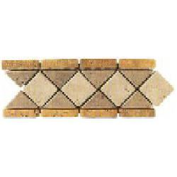 """Tumbled Natural Stone Wall Decorative Accent 4"""" x 12"""""""