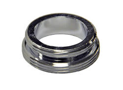 "Danco 15/16""-27M x 55/64""-27M Chrome Male Aerator Adapter"