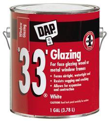 DAP® 33® White Window Glazing - 1 gal.