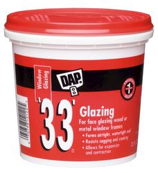 DAP® 33® White Window Glazing - 1 qt