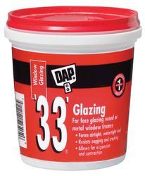 DAP® 33® White Window Glazing - 1/2 pt
