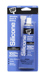 DAP® White All-Purpose 100% Silicone Sealant - 2.8 oz