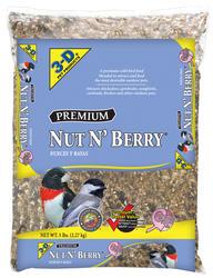 3-D® Premium Nut N' Berry® Bird Food - 5 lb.