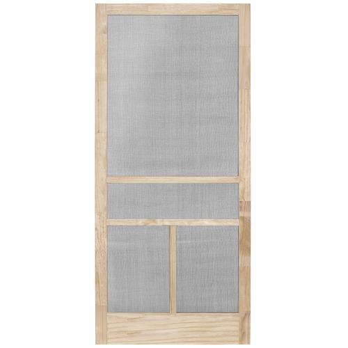 32 X 84 Wood T Bar Swing Screen Door At Menards