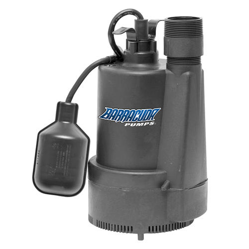 Barracuda 1/3 HP Thermoplastic Sump Pump At Menards®