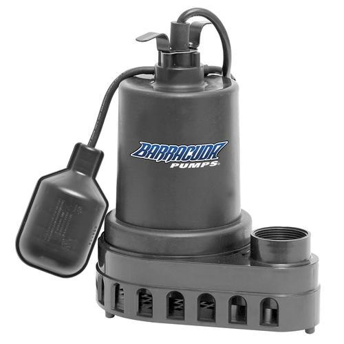 Barracuda 1 3 Hp Thermoplastic Sump Pump At Menards 174