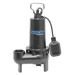 Barracuda 1/2 HP Cast Iron Sewage Pump