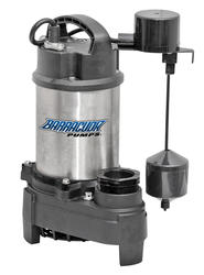 Barracuda 3/4 HP Cast Iron & Stainless Steel Sump Pump