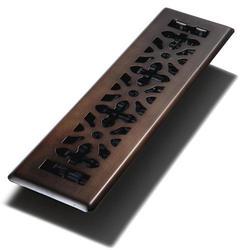 """2"""" x 12"""" Bronze Steel Gothic Register"""