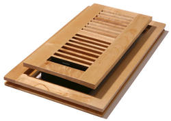 "4"" x 10"" Maple Natural Flushmount Register"