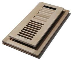 """4"""" x 14"""" Maple Unfinished Flushmount Register"""