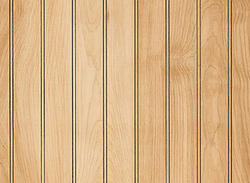 DPI Woodgrains 4' x 8' Beaded Birch Hardboard Wall Panel