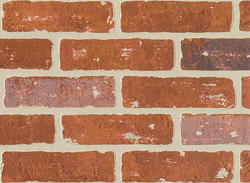DPI Earth Stones 4' x 8' Carriage House Brick Hardboard Wall Panel