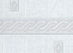 DPI AquaTile 4' x 8' Encinitas Bath Tileboard Wall Panel