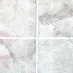 DPI AquaTile 4' x 8' Silver Quartz Bath Tileboard Wall Panel